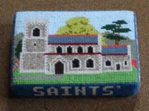 Seagrave Church - Tapestry kneelers