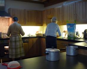 Sileby Church - Kitchen