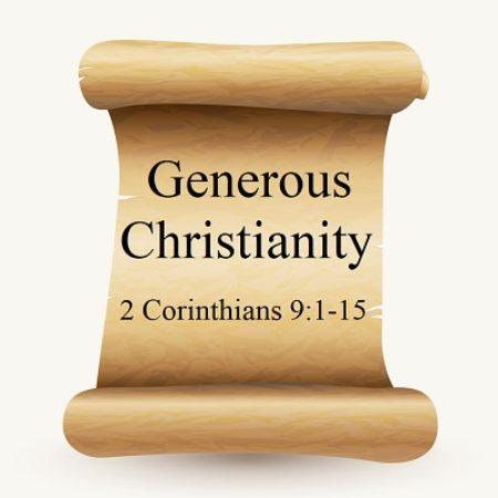 Generous Christianity