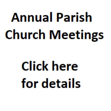 Annual Parish Church Meetings