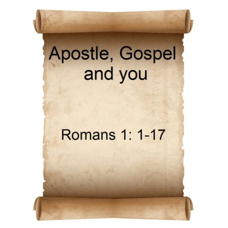 Apostle Gospel and you