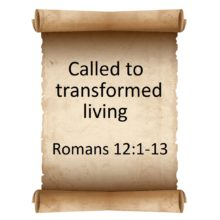 Called to transformed living