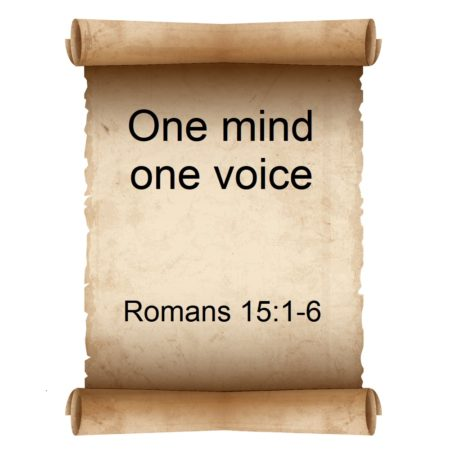 One mind one voice