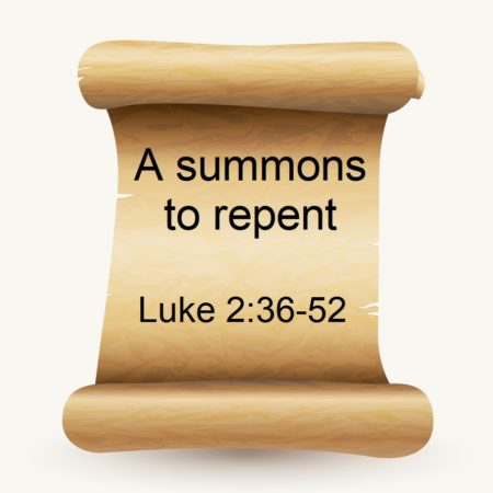 A summons to repent