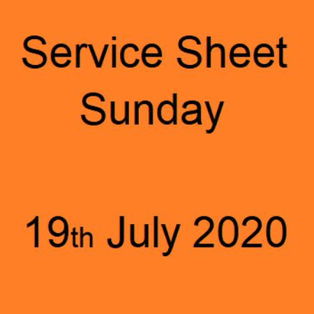19th July 2020